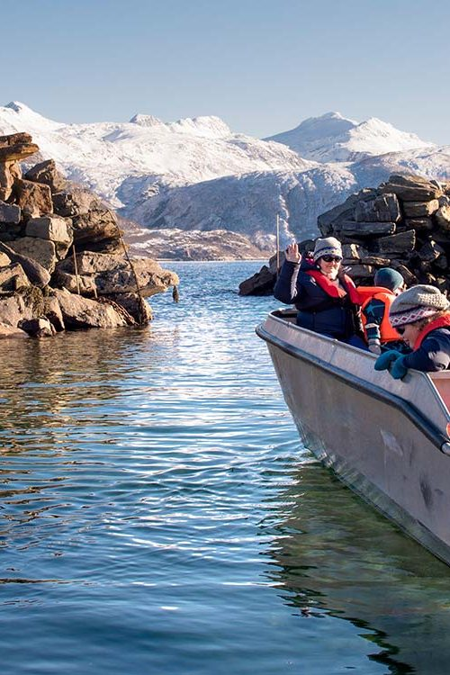 Polarcamp - Boat hire