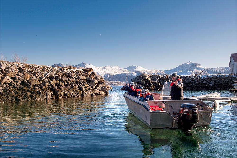 Polarcamp - Båtutleie